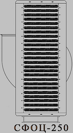 Электрокалориферная установка СФОЦ (ЭКОЦ) 250. Технические характеристики