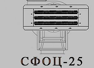 Электрокалориферная установка СФОЦ (ЭКОЦ) 25. Технические характеристики