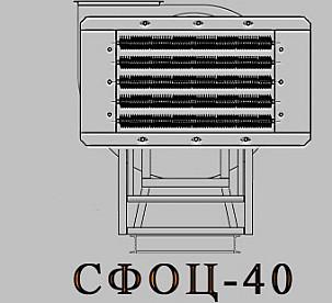 Электрокалориферная установка СФОЦ (ЭКОЦ) 40. Технические характеристики