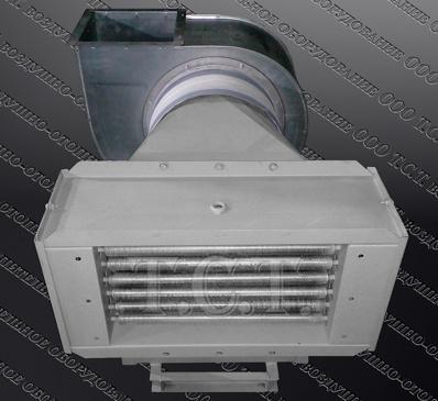Производство электрокалориферных установок ЭКОЦ