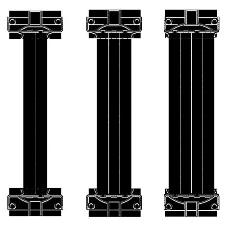 Двух, трех и четырех рядные калориферы КПСк